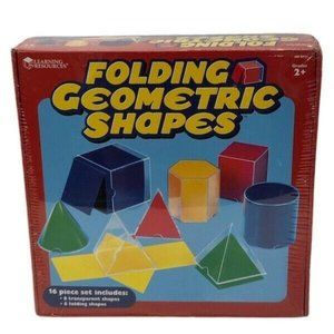 Learning Resources Folding Geometric Shapes NEW!